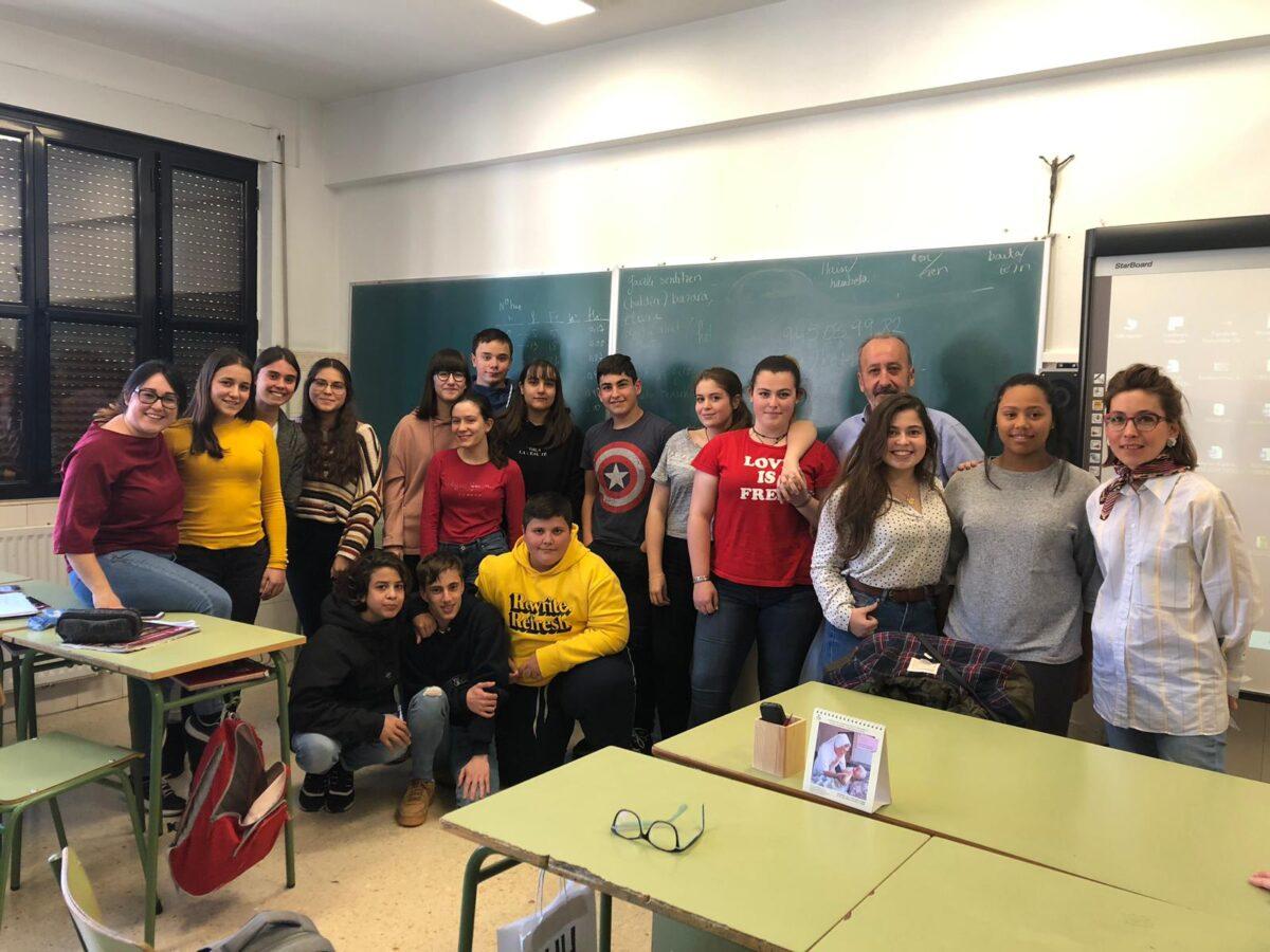 Charla Colegio Hogar San José